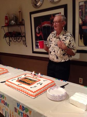 Wayne's 80th Birthday
