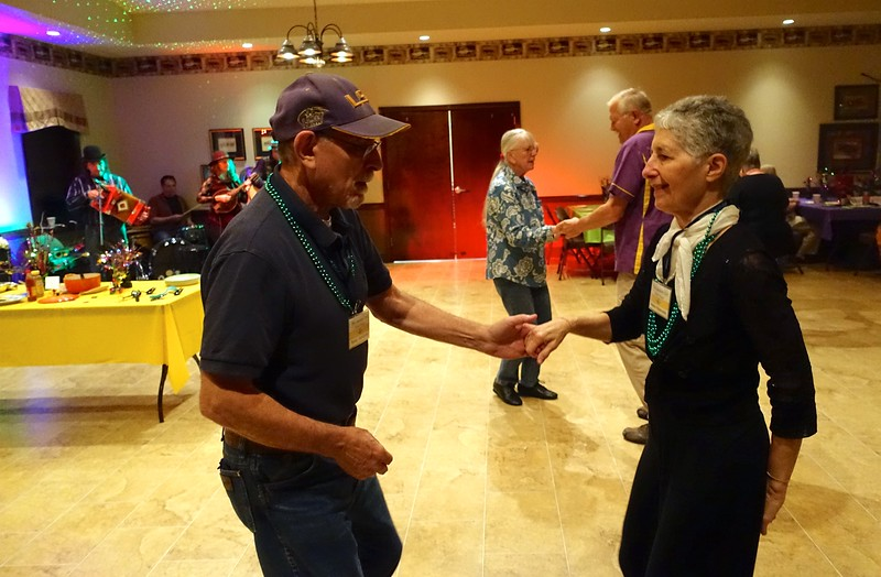 Bobby and Heather Rabinowitz invite you to enjoy Zydeco and Cajun dancing with a gourmet Creole feast.
