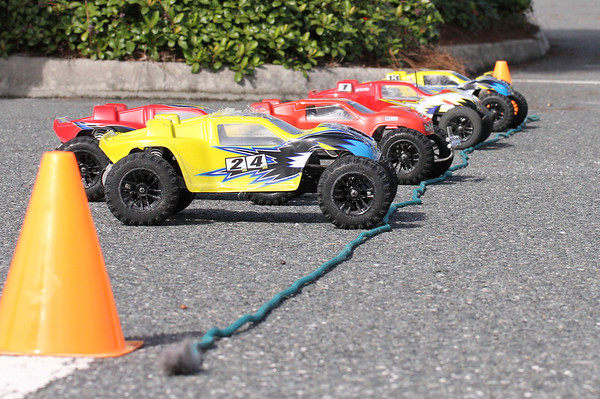 Saturday, Sept 22, 2012, Racing at Colony Cottage Rec Center