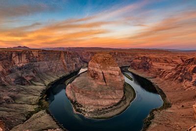Horseshoe Bend Ablaze