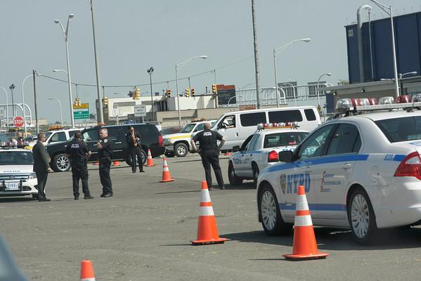 Pres. Obama at JFK Airport