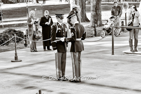 Veterans Day Tomb of the Unknowns 2012