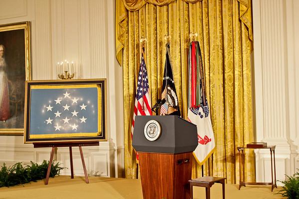 White House Medal of Honor L. Sabo