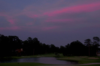 Tournament Course The Woodlands at Sunset: Waiting for the Moon