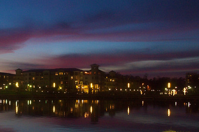Pastels and Lights on the Waterway