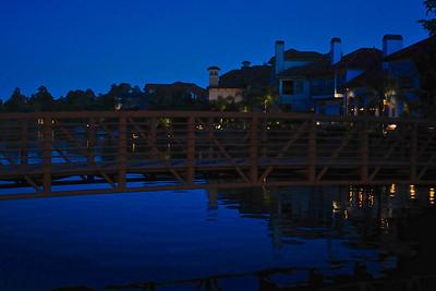 As Evening Falls, the Bridge home