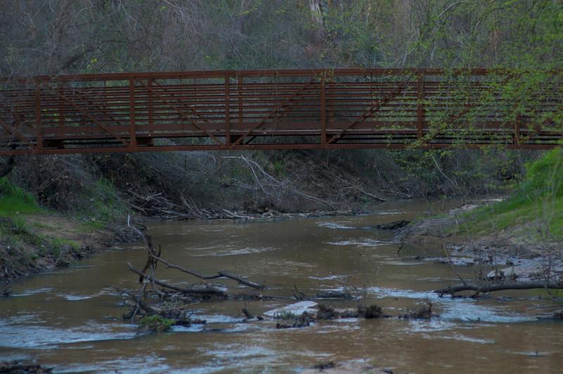 Walking Bridge to Harris County