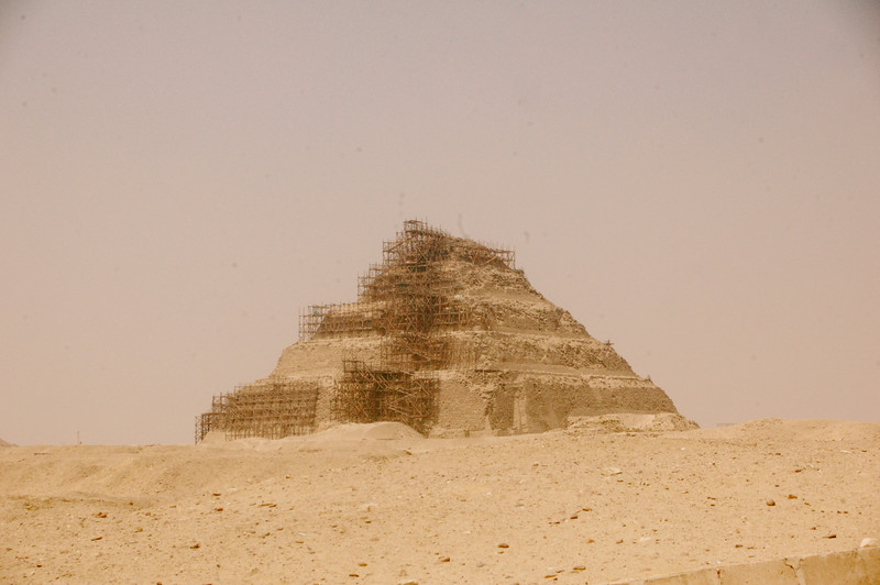 First Pyramid in Egypt