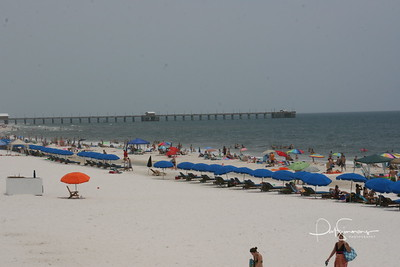 Gulf State Park Pier, Gulf Shores, AL         -   Gulf State Park's new pier opened on July 23, 2009.  The new pier is the longest pier on the Gulf of Mexico at 1540ft.  The new pier replaces the old pier that was destroyed in 2004 by Hurricane Ivan.