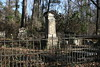 George Hampton Young Cemetery at Waverley Mansion in Clay County, MS