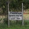 Thompson Memorial Cemetery, Wren, Monroe County, Mississippi