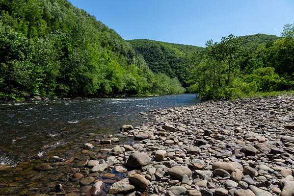 The Lehigh River, Jim Thorpe, PA