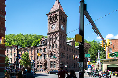 Carbon County Courthouse, Jim Thorpe, PA