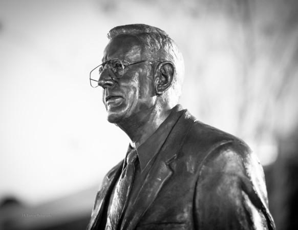 Henry Rowan in Bronze