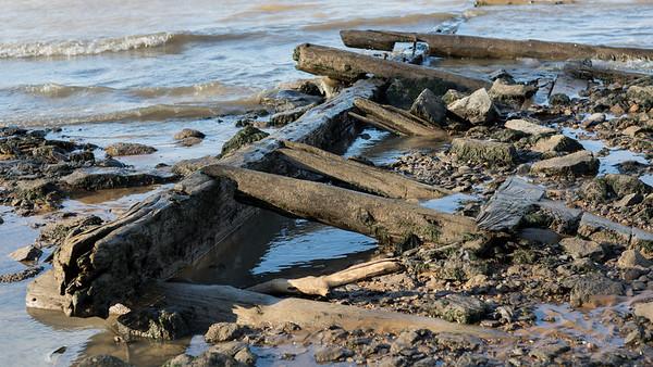 Old Pier - Delaware River Bank, West Deptford, New Jersey