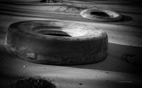 Tires - Delaware River Bank, West Deptford New Jersey