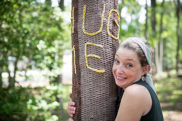 """Tree says """"Hug Me""""..."""