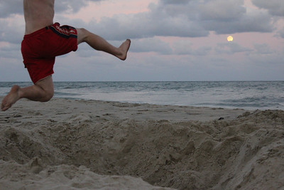 Jumping the Hatteras Moon