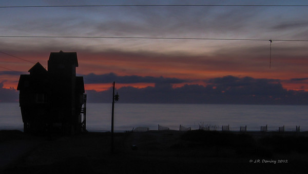 Sunrise over Rodanthe