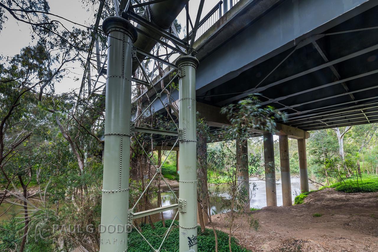 Banksia Street Bridge, Banksia Street Pipe Bridge