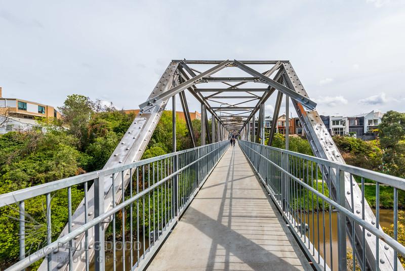 Collins Footbridge (Gipps Street Footbridge)
