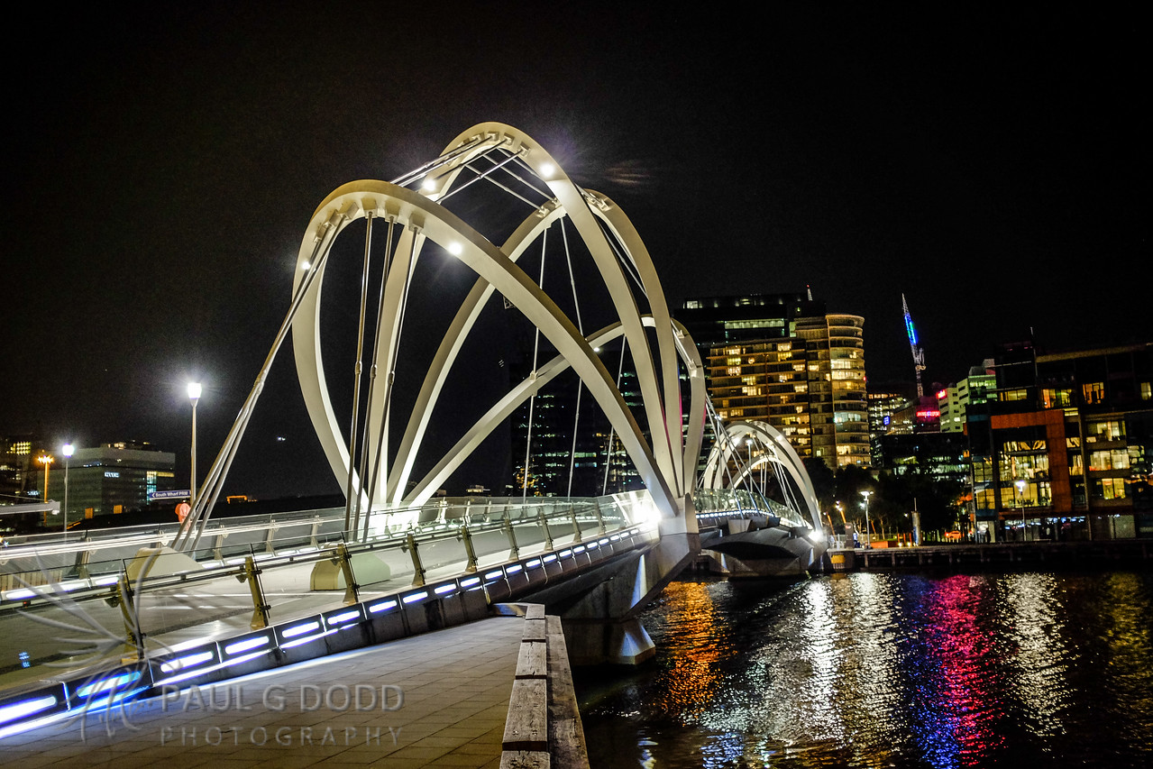 Seafarers Bridge, Docklands