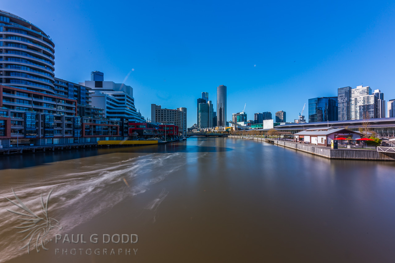 Spencer Street Bridges and Crown Casino