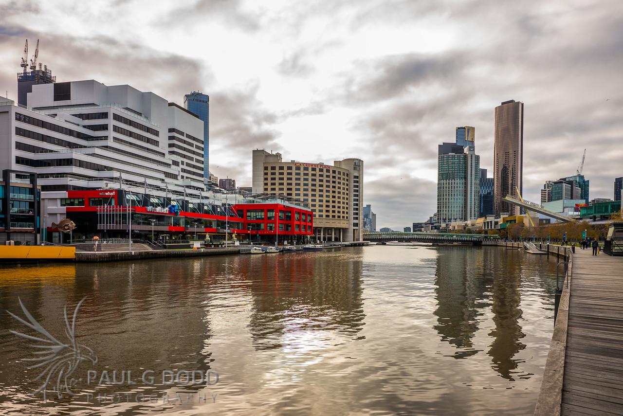 Spencer Street Bridges and Crown Casino