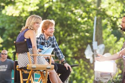 Ed Sheeran (GMA) in Central Park 29may2015-2-9
