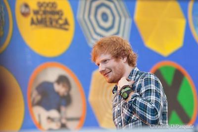 Ed Sheeran (GMA) in Central Park 29may2015-2-10