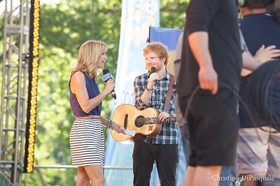 Ed Sheeran (GMA) in Central Park 29may2015-2-20