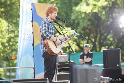 Ed Sheeran (GMA) in Central Park 29may2015-2-24