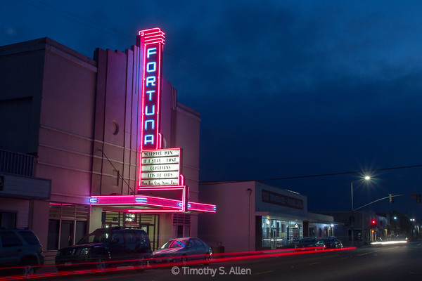 Fortuna Theater, Fortuna, California