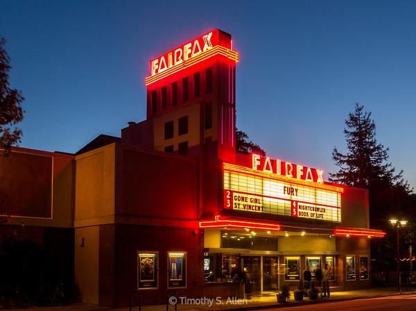 Fairfax Theater, Fairfax, CA