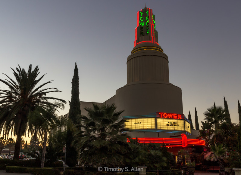 The Tower Theater, Sacramento, CA