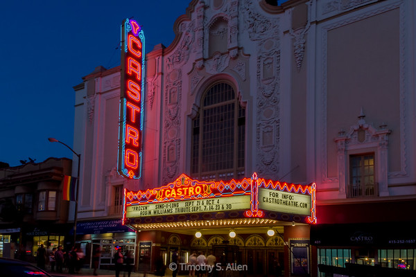 The Castro Theater, San Francisco, CA