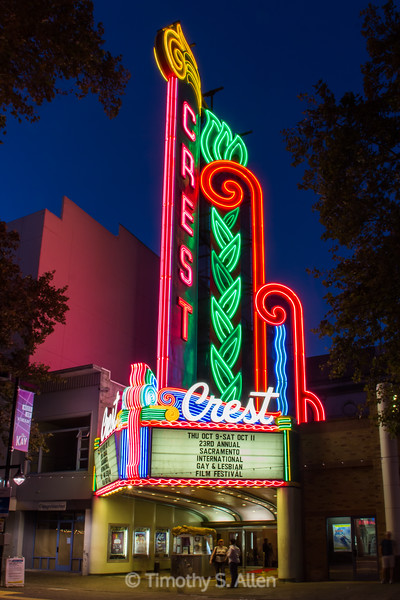 The Crest Theater, Sacramento, CA