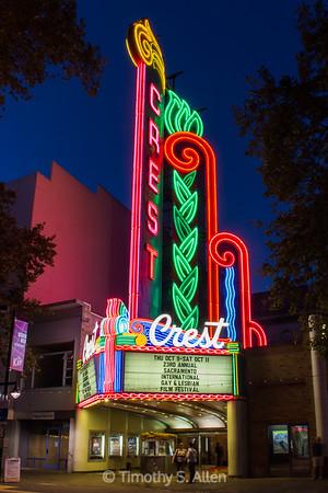 The Crest Theater, Sacramento, CA