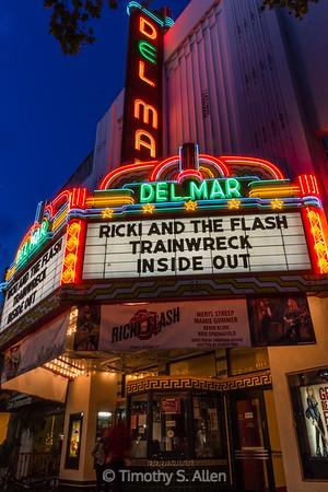 Del Mar Theater, Santa Cruz, CA