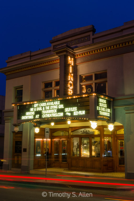Minor Theater, Arcata, CA