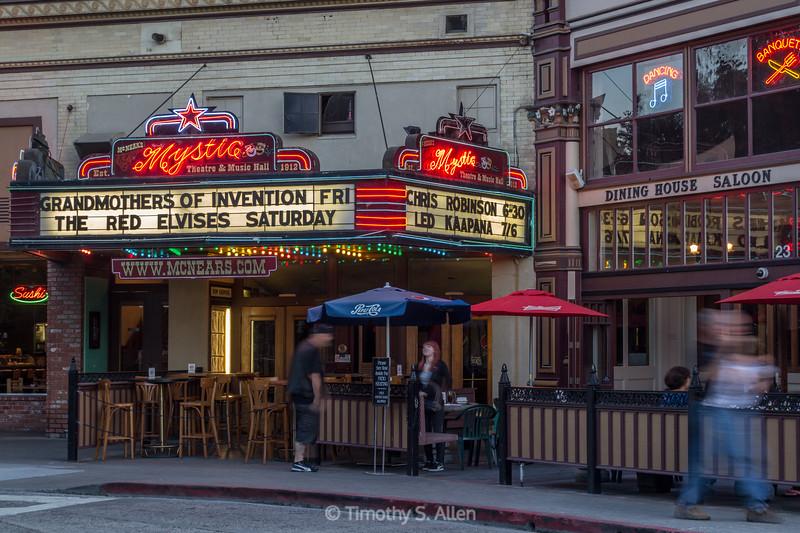 Mystic Theater, Petaluma, CA