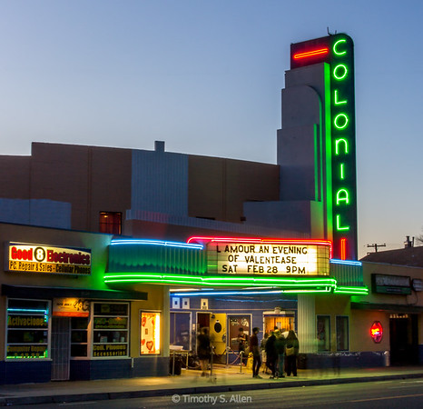 Colonial Theater, Sacramento, CA