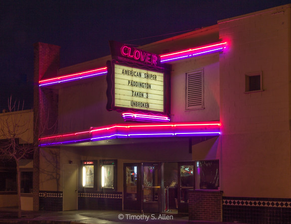 Clover Theater, Cloverdale, CA