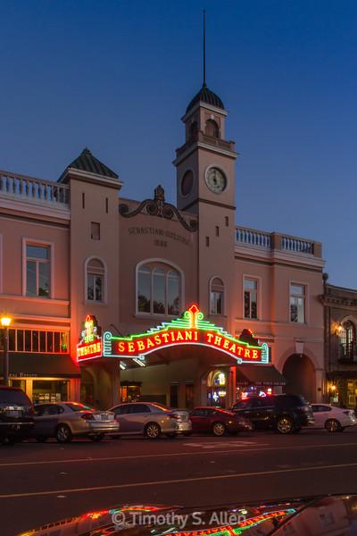 Sebastiani Theatre, Sonoma, CA