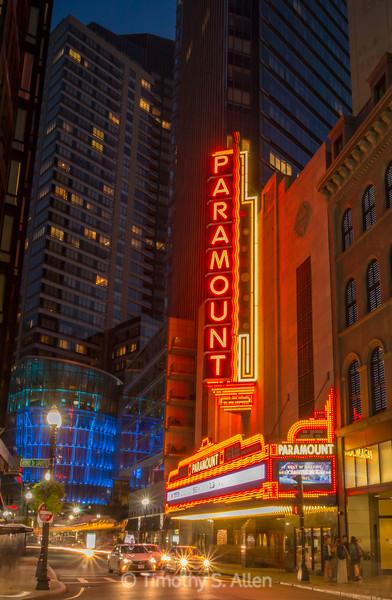 Paramount Center, Boston, MA