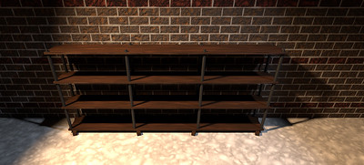Pipe and Ply Bookshelf