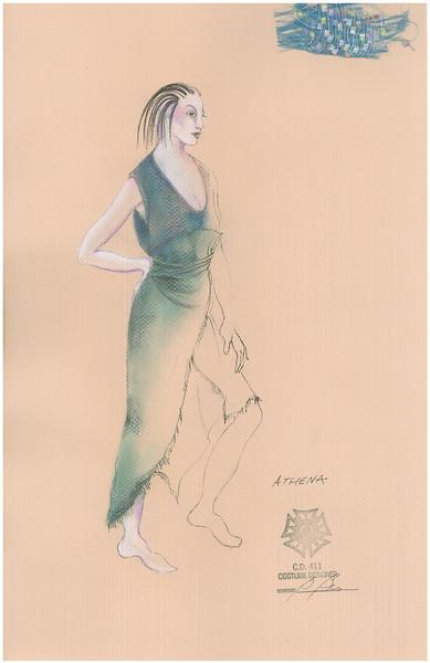 Trojan Woman Costume Sketches