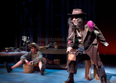 "3/10/14: This photograph was taken during rehearsals for the Cypress College production of ""Big River.""   jim.mccormack@mac.com"