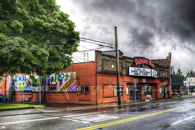 The Auburn Avenue Theater, Auburn, WA.  The building itself was built circa 1900 as a carriage station, then used as a bus station before converting to a theater.