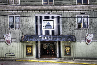 The Uptown Theatre, Port Townsend, WA.  The building itself was build in the 1800's, but was converted to a theatre in the 1940's.